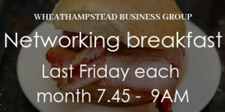 Breakfast Networking Wheathampstead Businesses (WEB) tickets