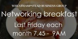 Breakfast Networking Wheathampstead Businesses (WEB)