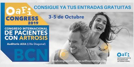 OAFI Congress 2019 tickets