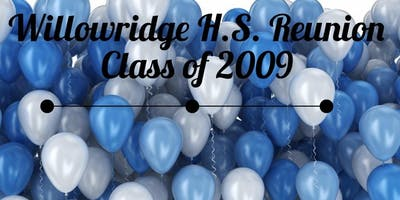 Willowridge Class of 2009  Reunion Events
