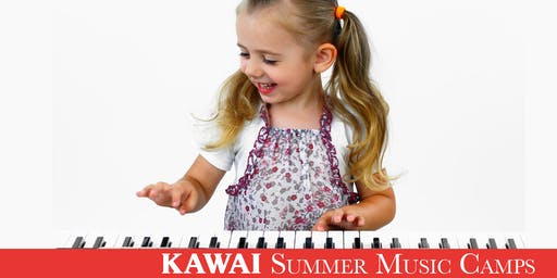 Kawai Pre-Piano Camp (August 5-9)