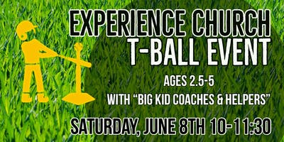Experience Church T-ball Event