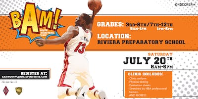 Bam's Youth Basketball Clinic