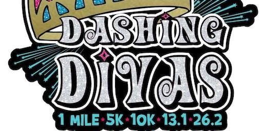 2019 Dashing Divas 1 Mile, 5K, 10K, 13.1, 26.2 -Little Rock