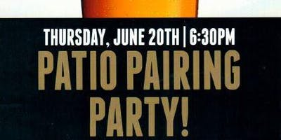 Patio Pairing Party!