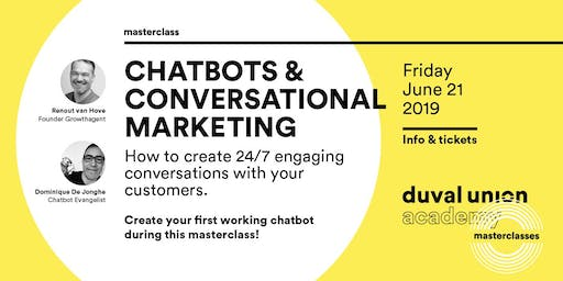 Masterclass: Chatbots & Conversational Marketing