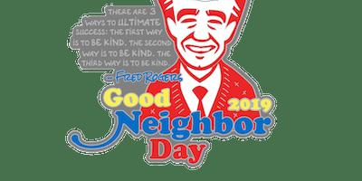 2019 Good Neighbor Day 1 Mile, 5K, 10K, 13.1, 26.2 -Green Bay