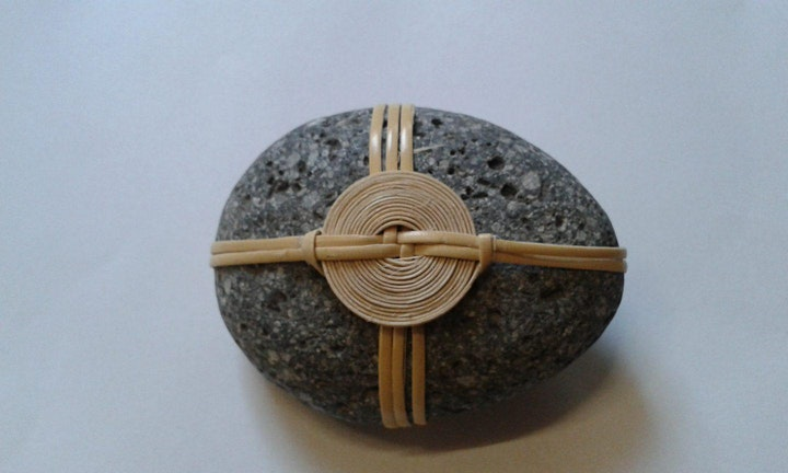Craft in Focus: Basketry – stone wrapping image