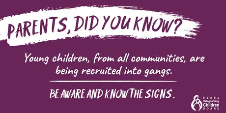 Parent Events: Gangs and youth violence awareness session tickets