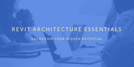 Revit Architecture Essentials tickets