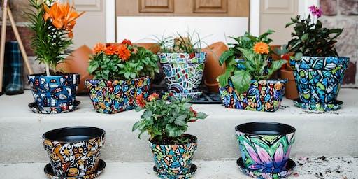 Flower Pot Painting 6/29