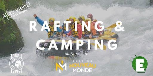 Rafting PRÉCI 2019