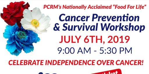 All Day Workshop: Cancer Prevention & Survival