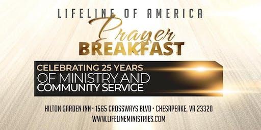 Lifeline Ministries Prayer Breakfast