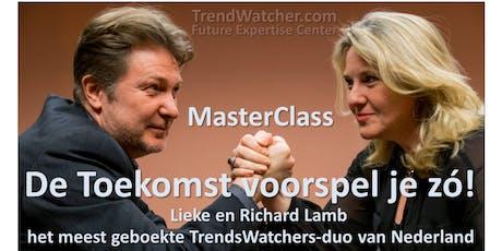 De Toekomst voorspel je zó! MasterClass tickets