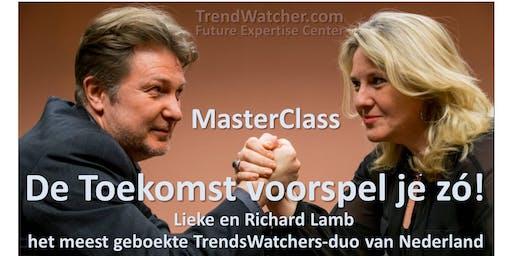 De Toekomst voorspel je zó! MasterClass TrendStrategie