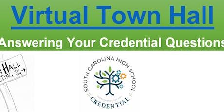 SCHSC- Video Learning Series- Town Hall 4 Teachers tickets