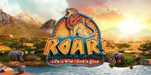 Vacation Bible School - ROAR! (ages 5-11)