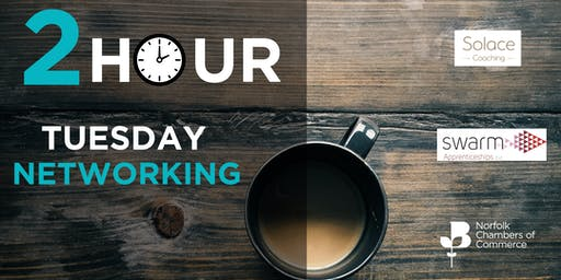 2 Hour Tuesday Networking in King's Lynn - December