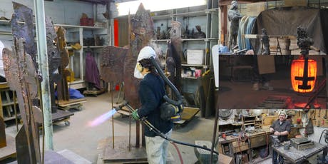 Inside Modern Art Foundry, from Casting Sculptures to Live Bronze Pour tickets