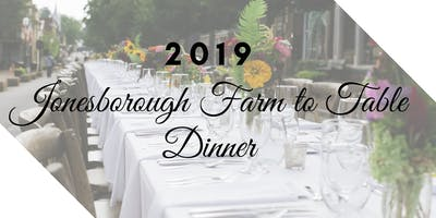 2019 Jonesborough Farm to Table Dinner