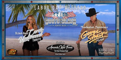 Boots on the Beach - Labor Day Weekend 2019 tickets