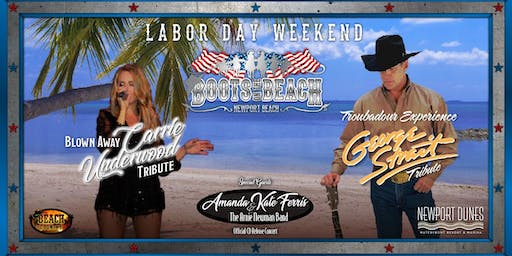 Boots on the Beach - Labor Day Weekend 2019