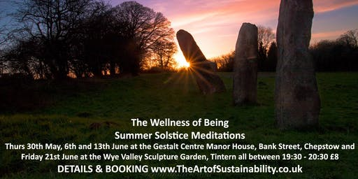 The Wellness of Being: Summer Solstice Meditations
