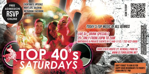 Top 40's Saturdays