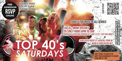 Top 40's Saturdays