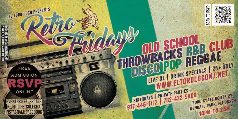 Retro Fridays Tickets, Multiple Dates   Eventbrite