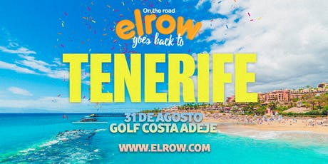 elrow Tenerife tickets