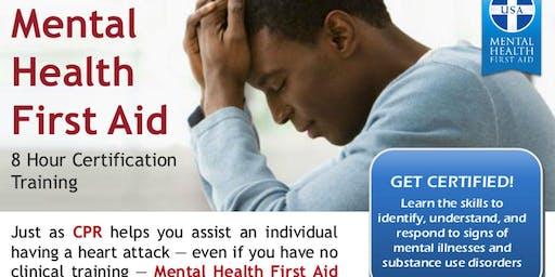 Moulton ISD Texas Initiative Mental Health First Aid Training