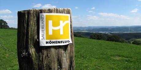 Sauerland Höhenflug  Trekking Wochenende 3 Mittelstufe** Wentholthausen-Altastenberg (22,3/719Hm+19 km/707 Hm) Tickets