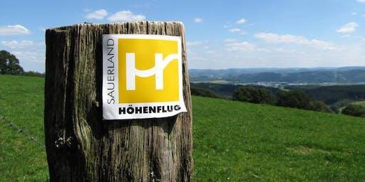 Sauerland Höhenflug  Trekking Wochenende 3 Mittelstufe** Wentholthausen-Altastenberg (22,3/719Hm+19 km/707 Hm)