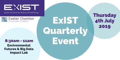 ExIST Quarterly Event - Can Exeter become a World Leader in Air Quality? tickets