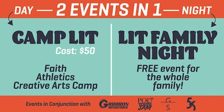 CAMP LIT Hosted by Gridiron Ministries tickets
