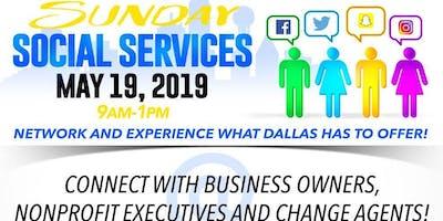 Sunday Social Services