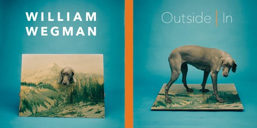 William Wegman: Outside In Member Preview
