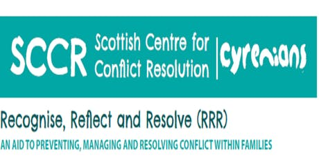 Recognise, Reflect and Resolve Training tickets
