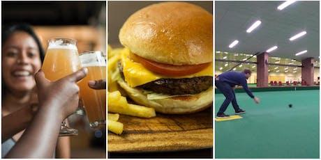 Beer, Burger and Bowls tickets