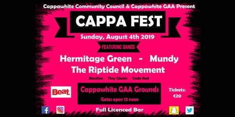 Cappa Fest tickets