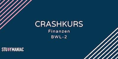 Crashkurs Finanzen (BWL-2)