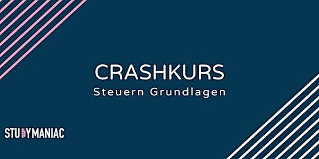 Crashkurs Steuern Grundlagen tickets