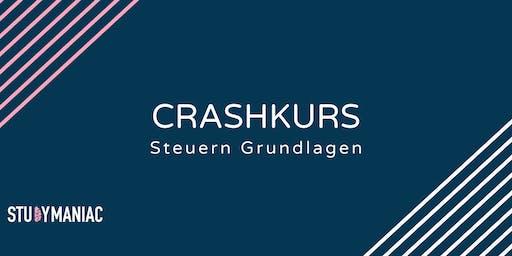 Crashkurs Steuern Grundlagen