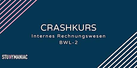 Crashkurs Internes Rechnungswesen (BWL-2) tickets