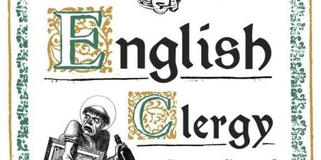 A Field Guide to the English Clergy - A Talk by Revd Fergus Butler-Gallie tickets