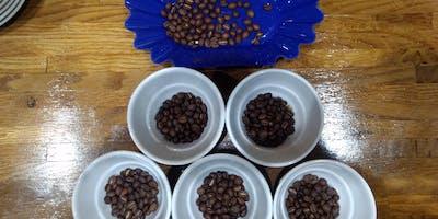 Neighborhood Coffee Cupping at Fort Bend Coffee Roasters