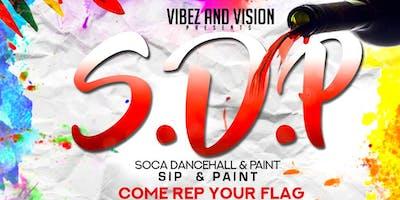 S.D.P - Soca, Dancehall & Paint ~ Rep ya flag!
