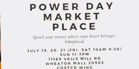 Power Day Marketplace at Wheaton Mall  tickets